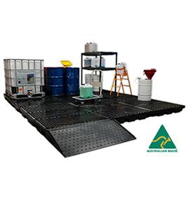 Bunded floor system