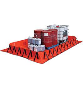 Collapsible bund 4m x 2.4m - 3360L