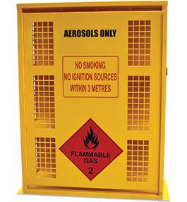 Aerosol Safety Storage Cage - 132 can
