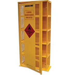 Aerosol Safety Storage Cage - 220 can