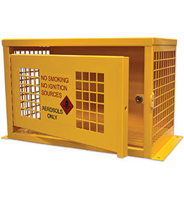 Aerosol Safety Storage Cage - 32 can
