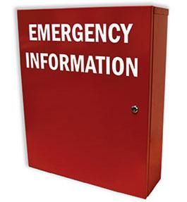 Emergency Information Manifest Cabinet