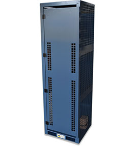 High Pressure Gas Cylinder Storage Cabinet - 4 bottle