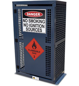Flammable Gas Storage Cage