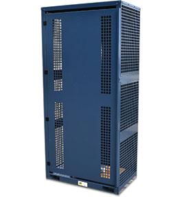 High Pressure Flammable Gas Cylinder Storage Cabinet - 6 bottle