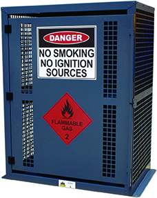 Flammable Gas Storage LPG BBQ cage