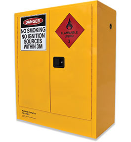 160L flammable liquids cabinet
