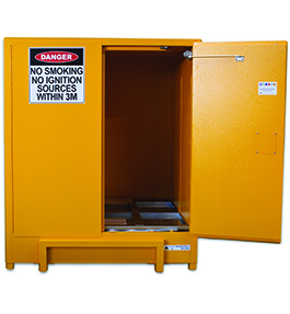 Flammable safety cabinet - pallet sized