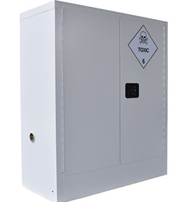 Toxic substances safety cabinet