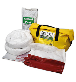 Oil and fuel bag spill kit