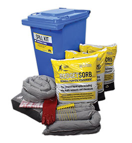 Standard spill kits