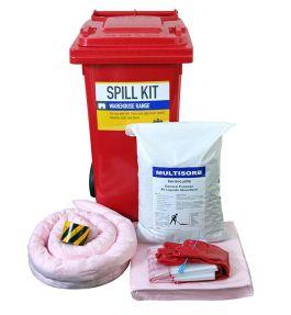 Spill kit for hazchem liquids