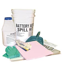 Battery acid spill kit 6L