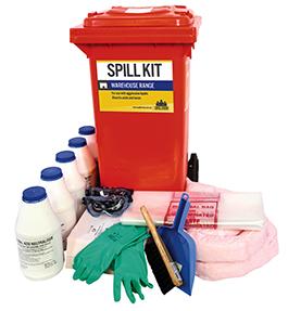 Spill kit battery acid 82 litre