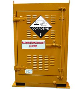 Corrosive Outdoor Dangerous Goods Storage