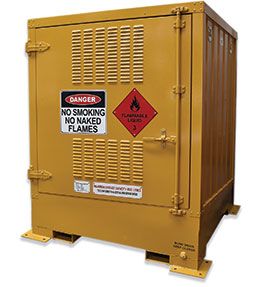 Pallet size outdoor dangerous goods store - 850L Flammable