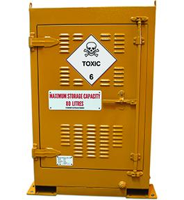 Toxic Outdoor Dangerous Goods Storage
