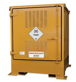 Pallet size outdoor dangerous goods store - 850L Toxic