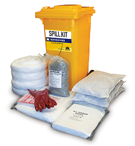 Spill kit warehouse oil and fuel 175L
