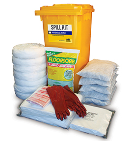 Spill kit oil and fuel warehouse 318L