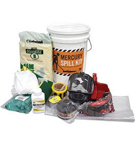 Mercury spill response kit