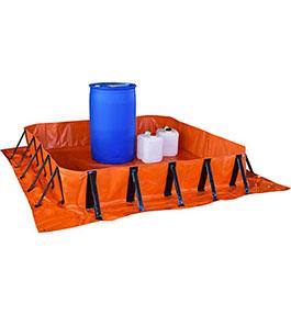 Portable spill bund - 2m x 2m