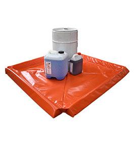 Square spill mat