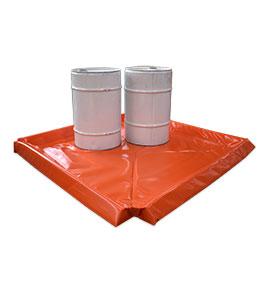 Portable spill mat 2m x 2m