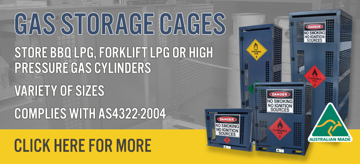 Gas cages banner