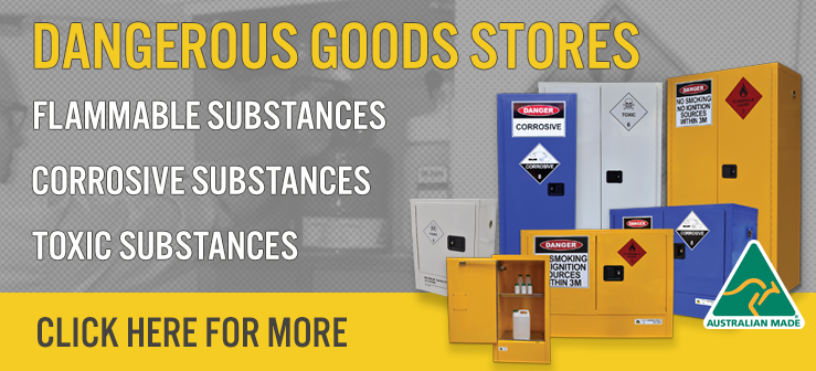 Indoor safety cabinets banner